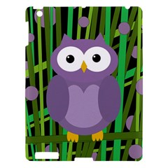 Purple owl Apple iPad 3/4 Hardshell Case