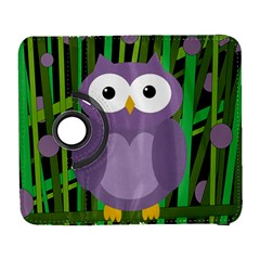 Purple owl Samsung Galaxy S  III Flip 360 Case