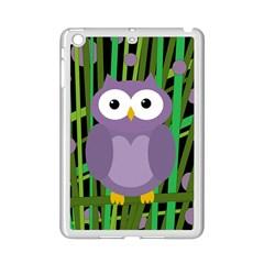 Purple owl iPad Mini 2 Enamel Coated Cases