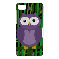 Purple owl BlackBerry Z10