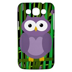 Purple owl Samsung Galaxy Win I8550 Hardshell Case