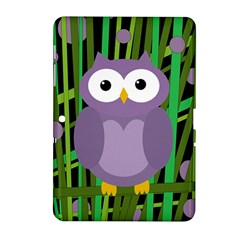 Purple owl Samsung Galaxy Tab 2 (10.1 ) P5100 Hardshell Case