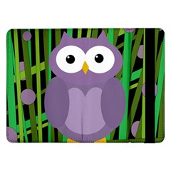 Purple owl Samsung Galaxy Tab Pro 12.2  Flip Case