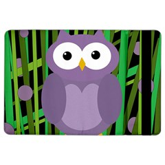 Purple owl iPad Air 2 Flip