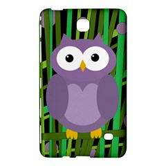 Purple owl Samsung Galaxy Tab 4 (8 ) Hardshell Case
