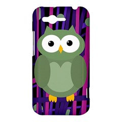 Green and purple owl HTC Rhyme