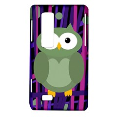 Green and purple owl LG Optimus Thrill 4G P925