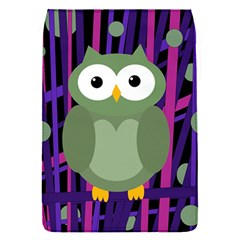 Green and purple owl Flap Covers (S)