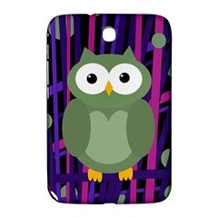 Green and purple owl Samsung Galaxy Note 8.0 N5100 Hardshell Case