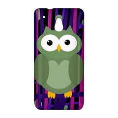Green and purple owl HTC One Mini (601e) M4 Hardshell Case