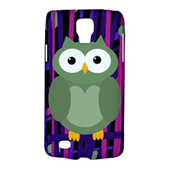 Green and purple owl Galaxy S4 Active