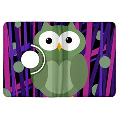 Green and purple owl Kindle Fire HDX Flip 360 Case