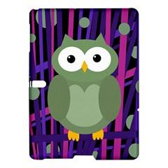 Green and purple owl Samsung Galaxy Tab S (10.5 ) Hardshell Case