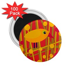 Yellow bird 2.25  Magnets (100 pack)