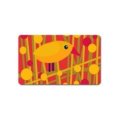 Yellow bird Magnet (Name Card)