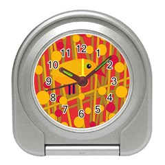Yellow bird Travel Alarm Clocks