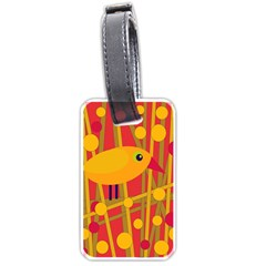 Yellow Bird Luggage Tags (two Sides)