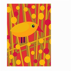 Yellow bird Large Garden Flag (Two Sides)