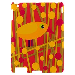Yellow bird Apple iPad 2 Hardshell Case
