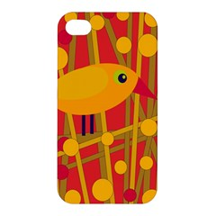Yellow bird Apple iPhone 4/4S Premium Hardshell Case