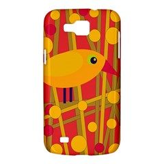 Yellow bird Samsung Galaxy Premier I9260 Hardshell Case