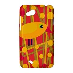 Yellow bird HTC Desire VC (T328D) Hardshell Case