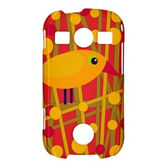 Yellow bird Samsung Galaxy S7710 Xcover 2 Hardshell Case