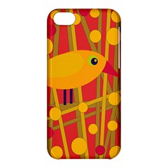 Yellow bird Apple iPhone 5C Hardshell Case