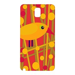 Yellow bird Samsung Galaxy Note 3 N9005 Hardshell Back Case