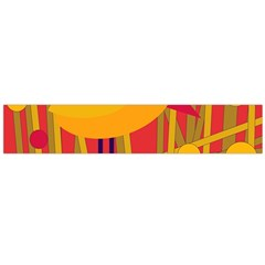 Yellow bird Flano Scarf (Large)