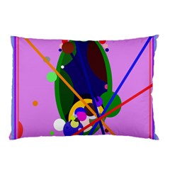Pink artistic abstraction Pillow Case (Two Sides)