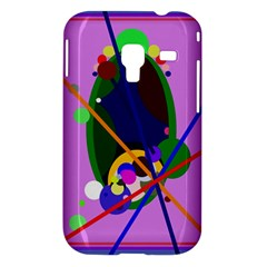 Pink artistic abstraction Samsung Galaxy Ace Plus S7500 Hardshell Case