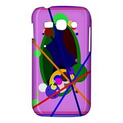 Pink artistic abstraction Samsung Galaxy Ace 3 S7272 Hardshell Case