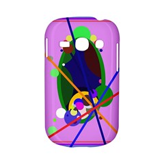 Pink artistic abstraction Samsung Galaxy S6810 Hardshell Case