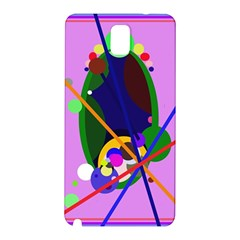 Pink artistic abstraction Samsung Galaxy Note 3 N9005 Hardshell Back Case