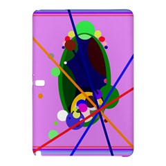 Pink artistic abstraction Samsung Galaxy Tab Pro 12.2 Hardshell Case