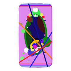 Pink artistic abstraction Samsung Galaxy Mega I9200 Hardshell Back Case
