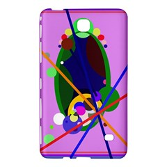 Pink artistic abstraction Samsung Galaxy Tab 4 (8 ) Hardshell Case