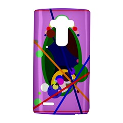 Pink artistic abstraction LG G4 Hardshell Case
