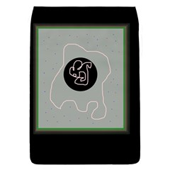 Gray abstract art Flap Covers (S)