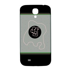 Gray abstract art Samsung Galaxy S4 I9500/I9505  Hardshell Back Case