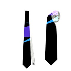 Blue fishes Neckties (Two Side)