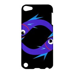 Blue fishes Apple iPod Touch 5 Hardshell Case