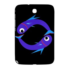 Blue fishes Samsung Galaxy Note 8.0 N5100 Hardshell Case