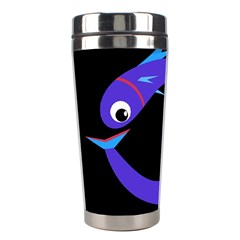 Blue fishes Stainless Steel Travel Tumblers
