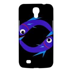 Blue fishes Samsung Galaxy Mega 6.3  I9200 Hardshell Case