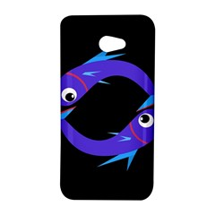 Blue fishes HTC Butterfly S/HTC 9060 Hardshell Case