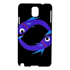 Blue fishes Samsung Galaxy Note 3 N9005 Hardshell Case