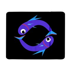Blue fishes Samsung Galaxy Tab Pro 8.4  Flip Case