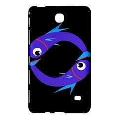 Blue fishes Samsung Galaxy Tab 4 (7 ) Hardshell Case